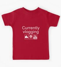 Currently Vlogging - YouTube Kids Clothes