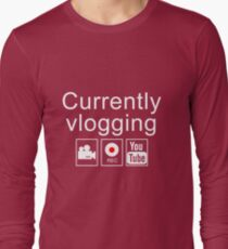 Currently Vlogging - YouTube T-Shirt