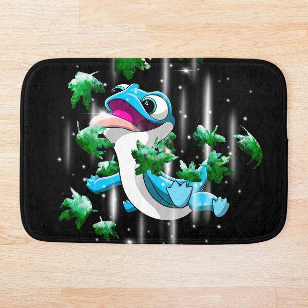 Salamander (Green Leaves) Bath Mat