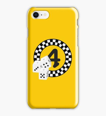 Bunco Dices - Table No Four VRS2 iPhone Case/Skin