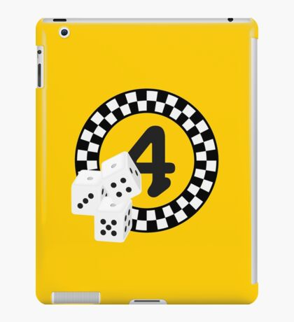 Bunco Dices - Table No Four VRS2 iPad Case/Skin