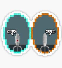 Hello Sentry! (No Logo) Sticker