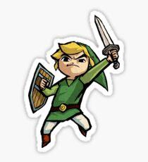 The Legend Of Zelda Link Wind Waker (Toon Link) Sticker