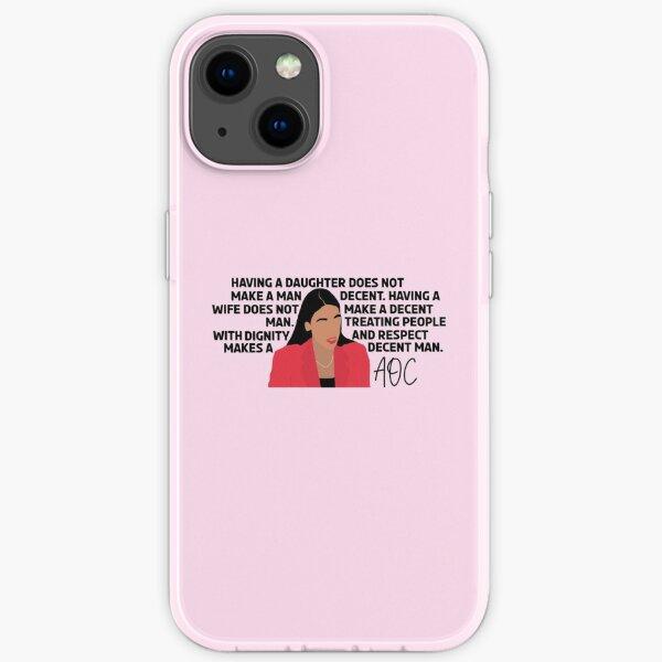 Decent Man by Alexandria Ocasio Cortez iPhone Soft Case