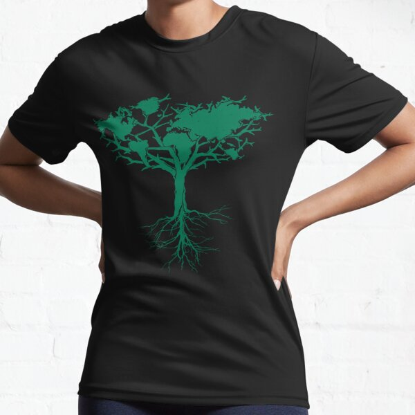 Earth Tree  Active T-Shirt