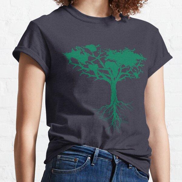 Árbol de la tierra Camiseta clásica