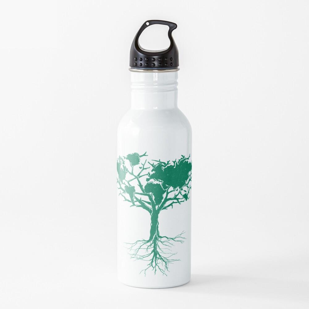 Earth Tree  Water Bottle