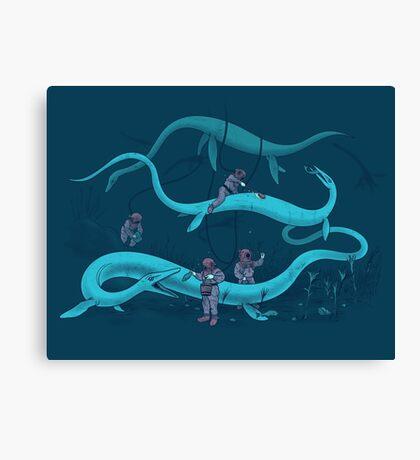 Cryptozookeeping Canvas Print