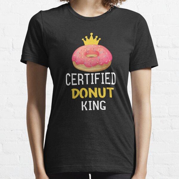 Zertifizierter Donut King Essential T-Shirt