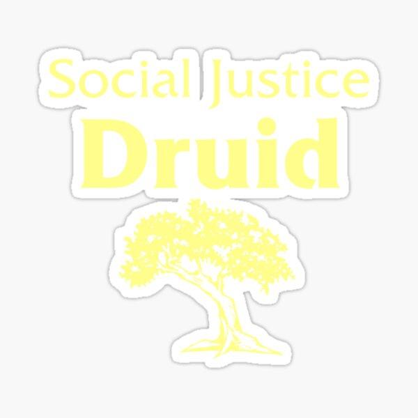 Social Justice Druid Sticker