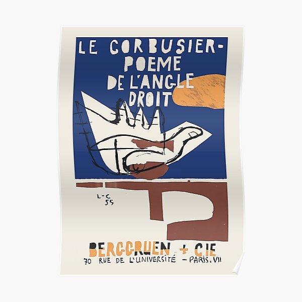 Poeme De L'Angele Droit Póster