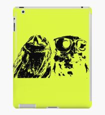 Wise Guys Black iPad Case/Skin