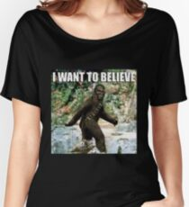 Chewy in the woods Women's Relaxed Fit T-Shirt
