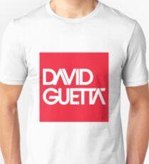Camiseta unisex Logotipo de David Guetta