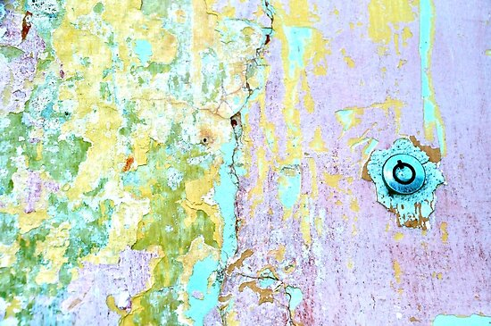 Sherbet Abstract...Key Required by Valerie Rosen