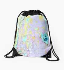 Sherbet Abstract...Key Required Drawstring Bag