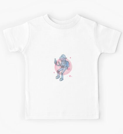Blue Space Man Kids Clothes