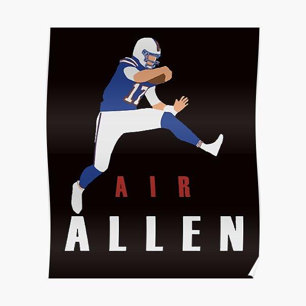 Air Allen Josh Allen Fans Poster