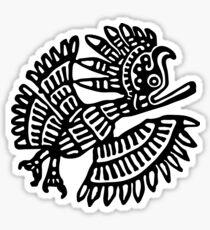 Mayan Eagle Sticker