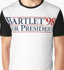 Bartlet for President Graphic T-Shirt