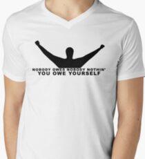 Rocky Balboa - You Owe Yourself Men's V-Neck T-Shirt