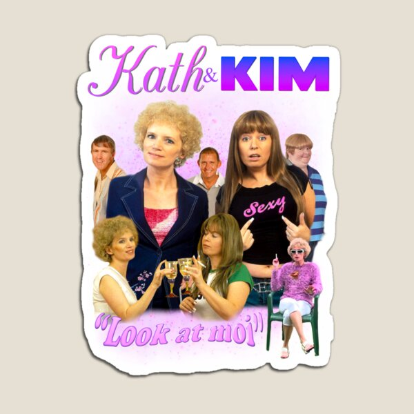 KATH AND KIM BOOTLEG Magnet
