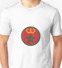Roundel of the Royal Moroccan Air Force Unisex T-Shirt