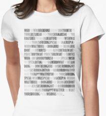 Radiohead - Creep Womens Fitted T-Shirt