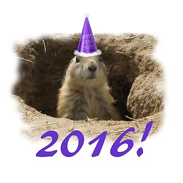 Prairie Dog New Year 2016 by TwoFriends