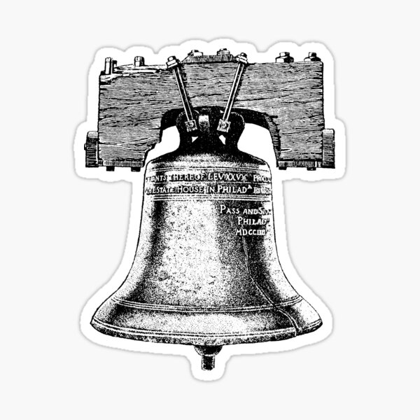 The Liberty Bell Sticker