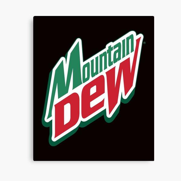 Mountain Dew Logo Canvas Print