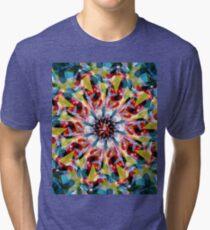 Tangent Abstract  Tri-blend T-Shirt