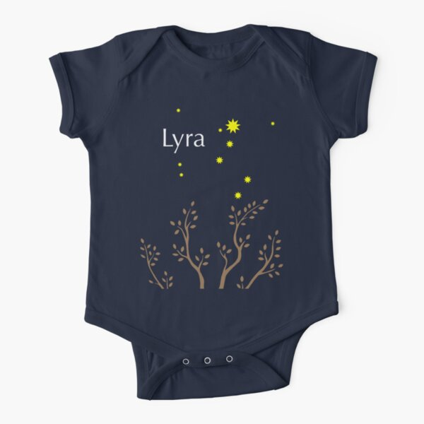 Lyra Short Sleeve Baby One-Piece