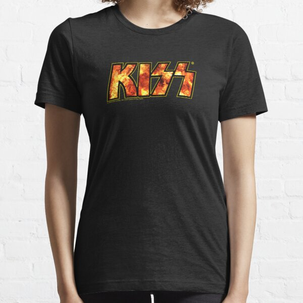 Kiss Band Fire Logo  Essential T-Shirt