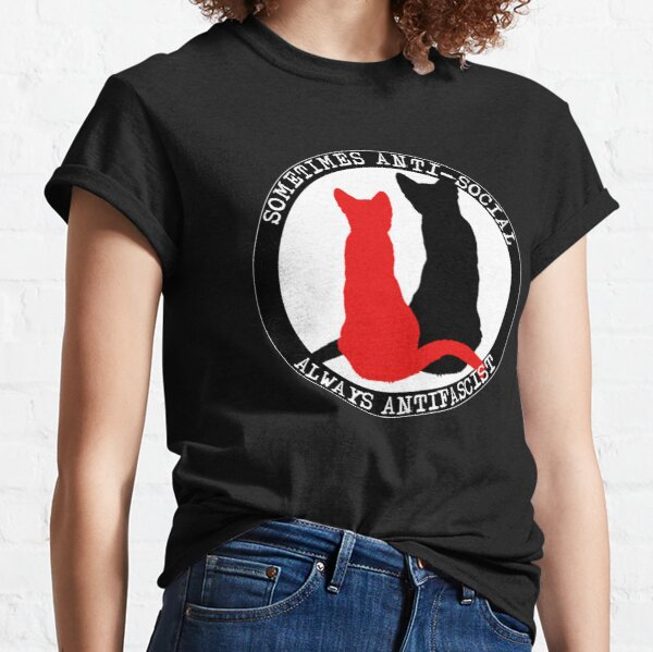 Chats Antifa T-shirt classique
