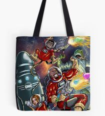 SheVibe Presents - ONE Condoms Guardians Of The Phalaxy - Cover Art Tote Bag