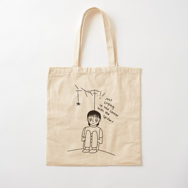 crying in the corner Cotton Tote Bag
