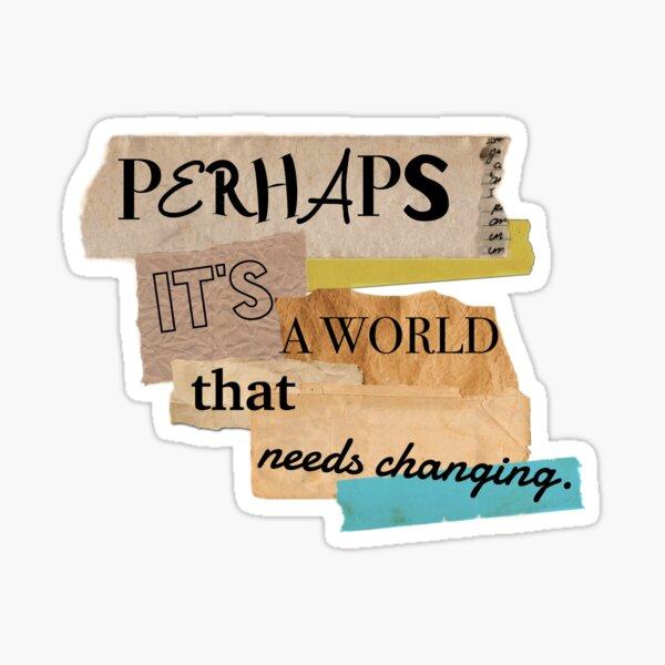 Enola Holmes movie quote Sticker