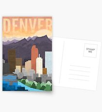 Mile High City Postcards