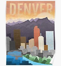 Mile High City Poster