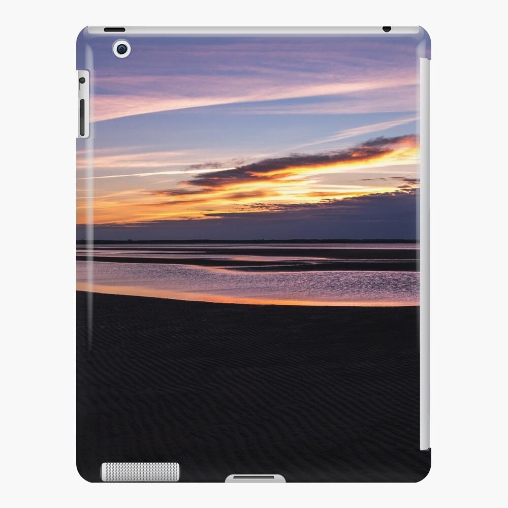 New Brunswick Beach Low Tide Sunset Funda y vinilo para iPad