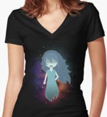 spooky's house of jumpscares Women's Fitted V-Neck T-Shirt