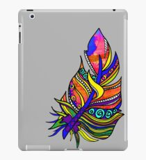 The brightest, most vibrant feather I have ever seen! iPad Case/Skin