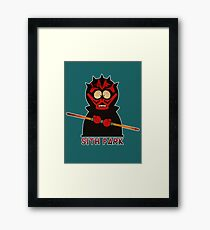 Darth Maul (Sith Park) Framed Print