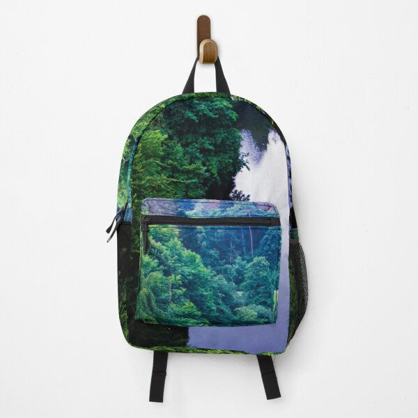 River through a forest Backpack