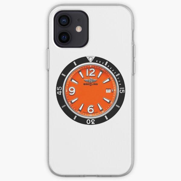 SUPEROCEAN Automatic 36 - Orange Dial iPhone Soft Case