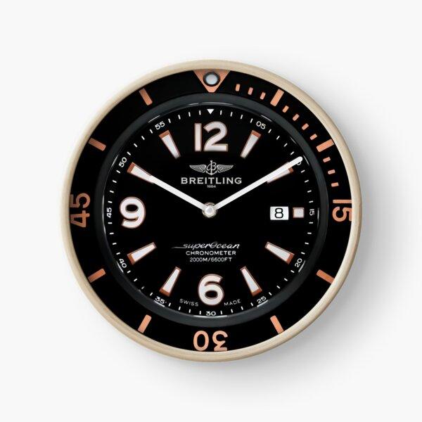 SUPEROCEAN Automatic 36 - Black Steel Dial Clock