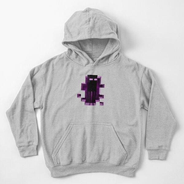 Enderman Minecrafter Enderdragon Kids Pullover Hoodie