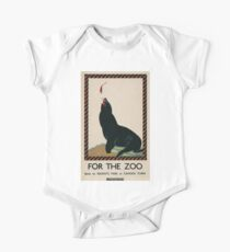 Vintage poster - London Zoo One Piece - Short Sleeve