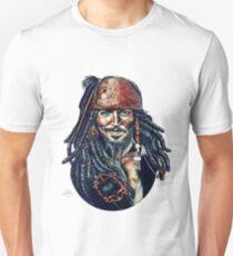 Cap'n Jack Sparrow by Indigo East Unisex T-Shirt